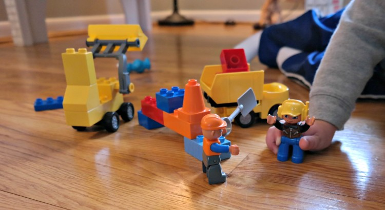 Best Building Blocks for 2-Year-Olds - Have you tried Duplos?