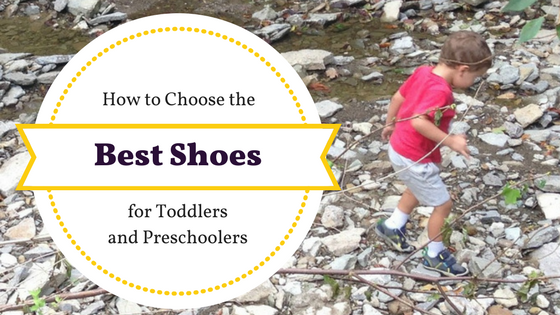 how to choose the best shoes for 2-year-olds